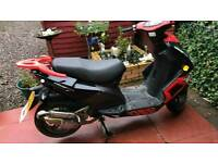 2016 Wk wasp 50cc Moped de restricted.
