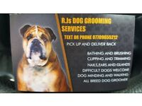 R.j.s dog grooming services