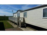 Value Static Caravan Mobile Holiday Home For Sale On Beach Access Park nr Bridlington