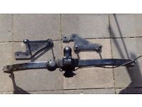 Renault Modus Towbex towbar with fixing brackets, bolts & nuts