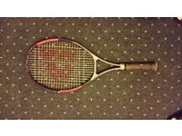 2x Tennis Racquets DONNAY Agassi and Dunlop
