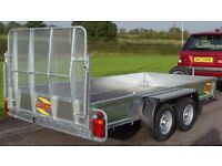 Bateson 12/64 Twin Wheel General Purpose Trailer mint condition. Good tyres, no damage. Like new