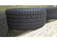 2x Continental ContiWinterContact TS830P Winter tyres, 7+mm tread, 235/40 18