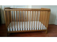 Cot bed and changing unit drawers
