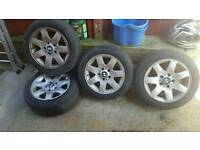 "BMW 16"" alloy wheels"