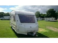 Sold sold subject to collection..Sprite caravan 5 berth. Great family starter