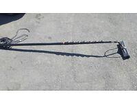 44ft carbon fibre Waterfed pole