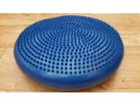 66fit Inflatable Stability Disc - Physio Gym Sports Therapy Rehab Yoga Pilates Core Training
