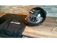NEW MEDIUM LS2 ROOKIE MOTORCYCLE HELMET