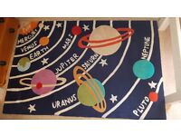 Childrens Planet/Space Rug