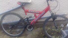 Ridgeway mountain bike full suspension