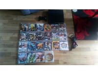 Playstation 3 Slim Console, 320GB with games and controller WITH BOX
