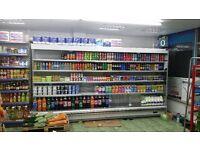 Multideck fridge/drinks chiller- 3.5m shop fridge with remote compressor quick sale