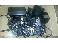 Box of 13 assorted AC/DC Adaptors