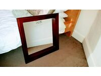 Mirror - wood framed (£10)