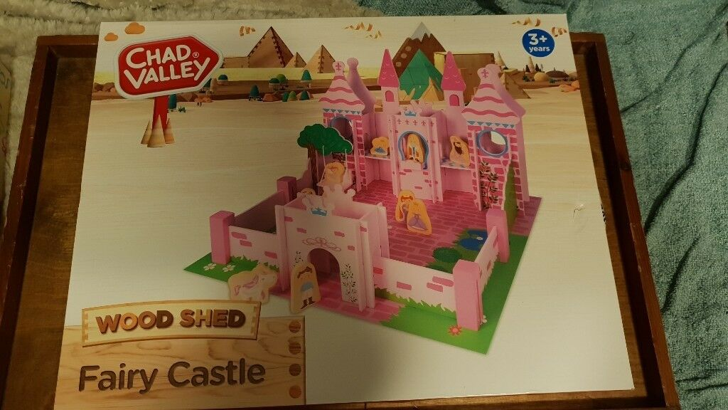 Chad Valley Wooden Fairy Castle In Newcastle Tyne And Wear