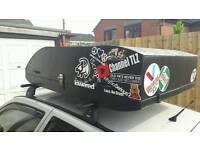 Roof Box With Thule Bars