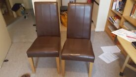 Two matching chairs for sale