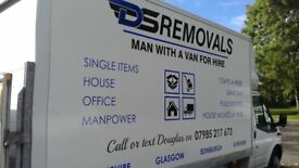 man with van single items to full house removalslarge luton van with taillift