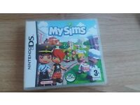 Nintendo DS XL & MY Sims Game
