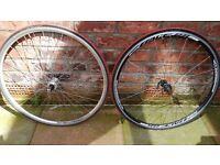 Weinmann XR18 wheels with tyres