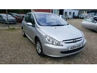 Peugeot 307 1.4 petrol manual low miles new cambelt and service