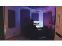 Soundproofed and Acoustically Treated Music Production Studio [Long-term]