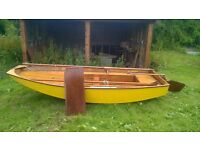 Mirror Dinghy Number 67. This is the oldest Mirror dinghy for sale in the UK.