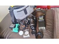 Nikon d3000 dlsr camera has hardly been used perfect condition comes with accessories