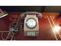 VINTAGE OFFICE PLANFONE A DESKTOP EXTENSION PRIVACY INTERCOM TWO TONE TELEPHONE GWO FAB DECOR USE