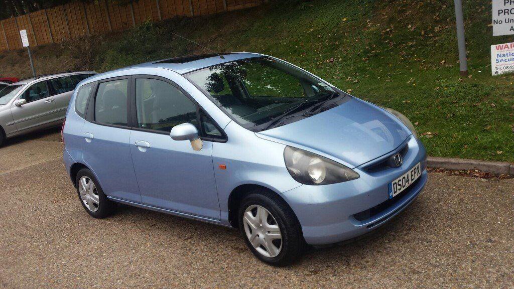 2004 04 Plate Honda Jazz 1 4 5 Door Hatchback Blue  U00a3595