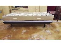 Vintage Single Bed with Mattress