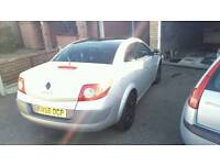 Renault megane convertible only 22000 miles