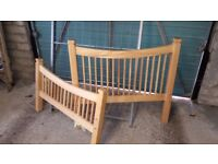 Single wooden bed frame only