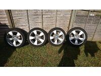 Bmw e60 original alloys with tyres R17 225 45