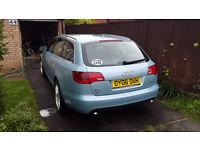 Audi A6 2.0 TDI Estate Blue
