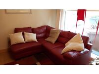 Read leather sofas for sale