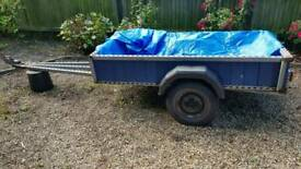 Large Galvanised Trailer