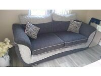 Large 3 Seat Sofa As New