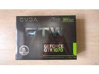 EVAG GTX 1070 WTF 8GB RGB GPU GRAPHICS CARD