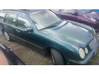 Mercedes E220 Estate Auto 7 Seater Diesel 2001