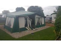 Pennine pathfinder folding camper with full awning very good condition sleeps 6 toilet hot, water