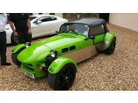 Quantum Xtreme Kit Car 2lt Pinto Engine , Lamborghini Hurricane Green, Immaculate