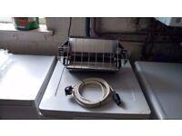 Quartz-ray wall mounted heater