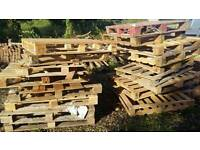 Wood pallets - looe and torpoint