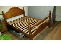 Double Bed @ 2 side cabinits