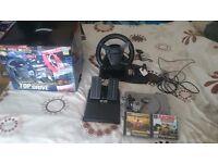 Sony playstation plus logic 3 steering wheel