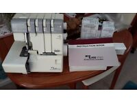 JANOME DOMESTIC OVERLOCKER 3OR 4 THREAD ECT electronic