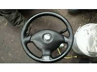 Steering wheel with air bag suzuki iginis 1.5