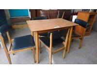 dining table and 4 Chairs - Delivery Available